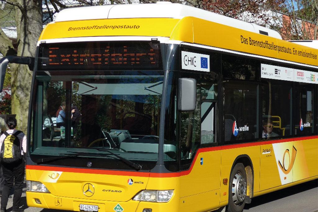 Brennstoffzellenbus